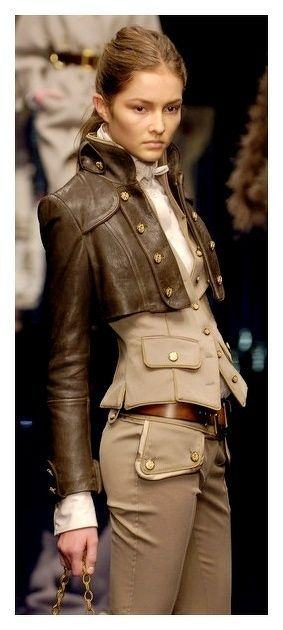 Dolce & Gabbana at Milan Fall 2006