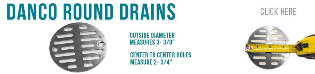 Designer Drains - Danco Drains